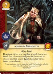 Joffrey Baratheon - GoH 89