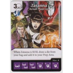 Zatanna - Actual Magician (Die & Card Combo Combo)
