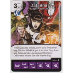 Zatanna - Stage Magician (Die & Card Combo Combo)