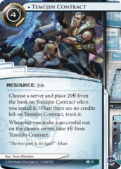 Temujin Contract