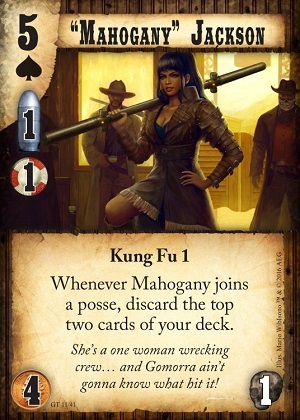 Mahogany Jackson