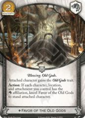Favor of the Old Gods