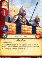 Gold Cloaks - Core