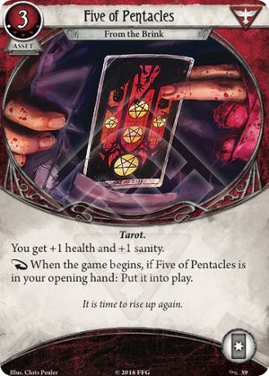 Five of Pentacles: From the Brink (1)