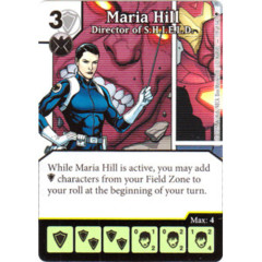 Maria Hill - Director of S.H.I.E.L.D (Die & Card Combo)