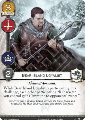 Bear Island Loyalist - WotN
