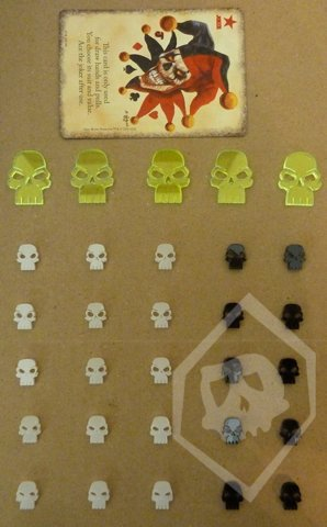 Doomtown Reloaded Promo Acrylic Ghost Rock Token Set