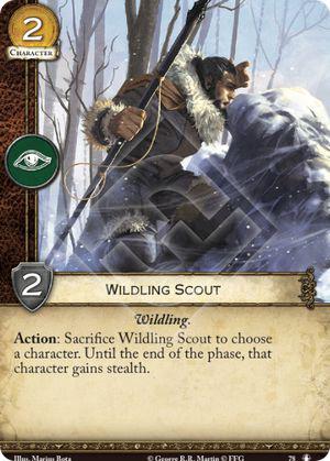 Wildling Scout - NMG