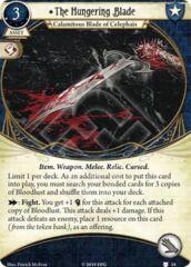 The Hungering Blade: (1) / Bloodlust Bonded Cards (4 card bundle)