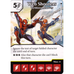 Web Shooters - Webbing All Over (Die & Card Combo)