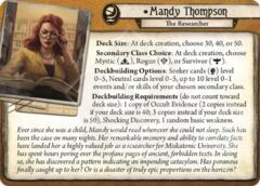 Mandy Thompson: The Researcher Investigator Bundle (6 cards)