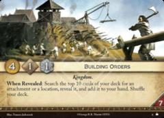Building Orders