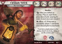 William Yorick Investigator Bundle