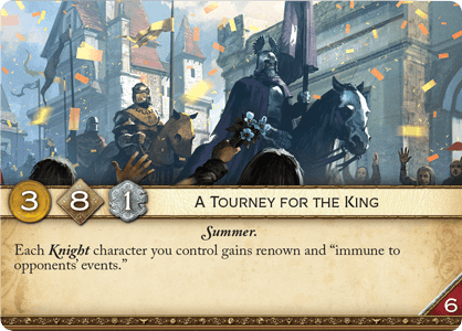 A Tourney for the King