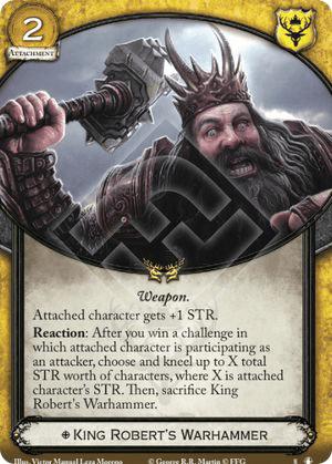 King Roberts Warhammer