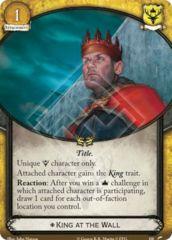 King at the Wall
