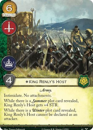 King Renlys Host - TiMC
