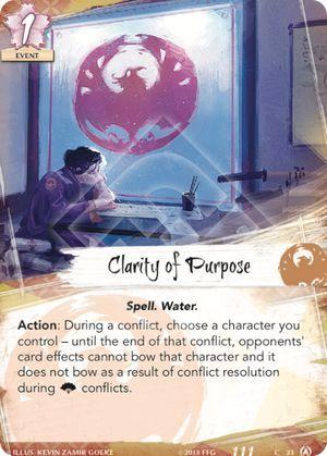 Clarity of Purpose