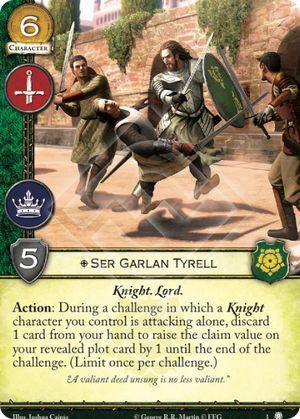 Ser Garlan Tyrell - 3
