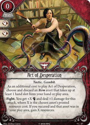 Act of Desperation