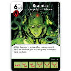 Brainiac - Manipulative Schemer (Die & Card Combo)