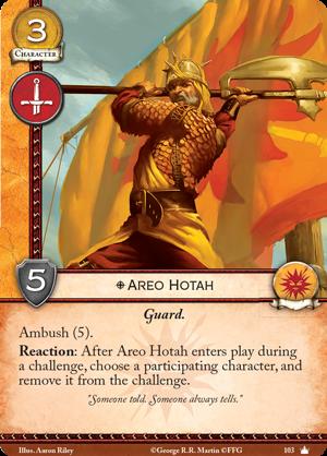 Areo Hotah - Core