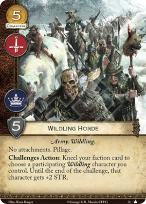 Wildling Horde - Core