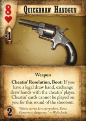 Quickdraw Handgun