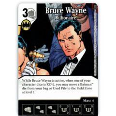 Bruce Wayne - Billionaire (Die & Card Combo)