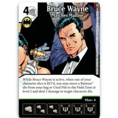 Bruce Wayne - Matches Malone (Die & Card Combo)