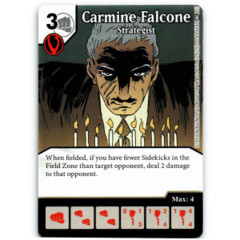 Carmine Falcone - Strategist (Die & Card Combo)