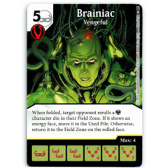 Brainiac - Vengeful (Die & Card Combo)