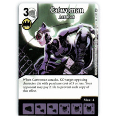 Catwoman - Acrobat (Die & Card Combo)
