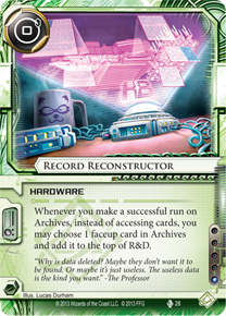 Record Reconstructor