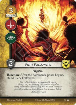 Fiery Followers - Core