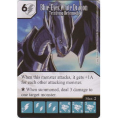 Blue-Eyes White Dragon - Terrifying Behemoth (Die & Card Combo)