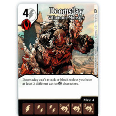 Doomsday - Villainous Monster (Die & Card Combo)