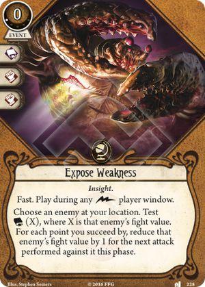 Expose Weakness (1)
