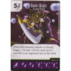Buster Blader - Dragon Slayer (Die & Card Combo)