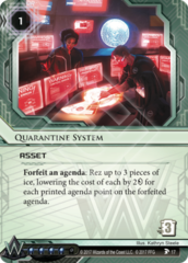 Quarantine System
