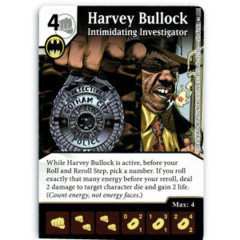 Harvey Bullock - Intimidating Investigator (Die & Card Combo)