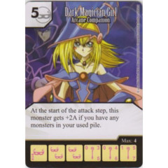 Dark Magician - Dark Magic Attack (Die & Card Combo)