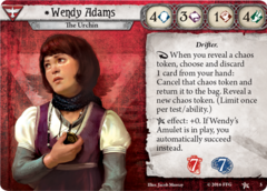 Wendy Adams investigator bundle