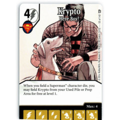 Krypto - Here Boy! (Die & Card Combo)