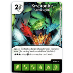 Kryptonite - Green Death (Die & Card Combo)