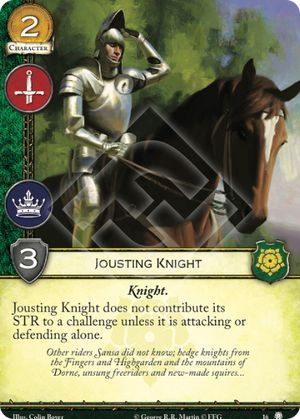 Jousting Knight - 16