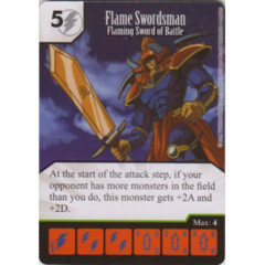 Flame Swordsman - Flaming Sword of Battle (Die & Card Combo)