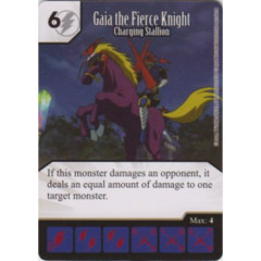 Gaia the Fierce Knight - Charging Stallion (Die & Card Combo)