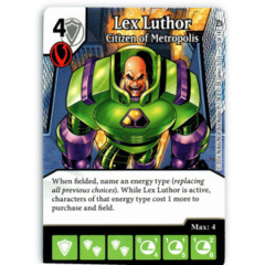 Lex Luthor - Citizen of Metropolis (Die & Card Combo)