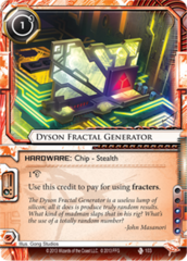 Dyson Fractal Generator
